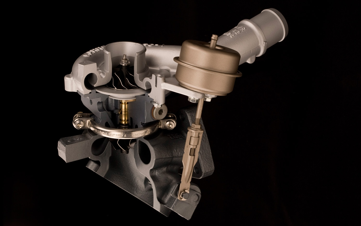 Ford EcoBoost Turbocharger1