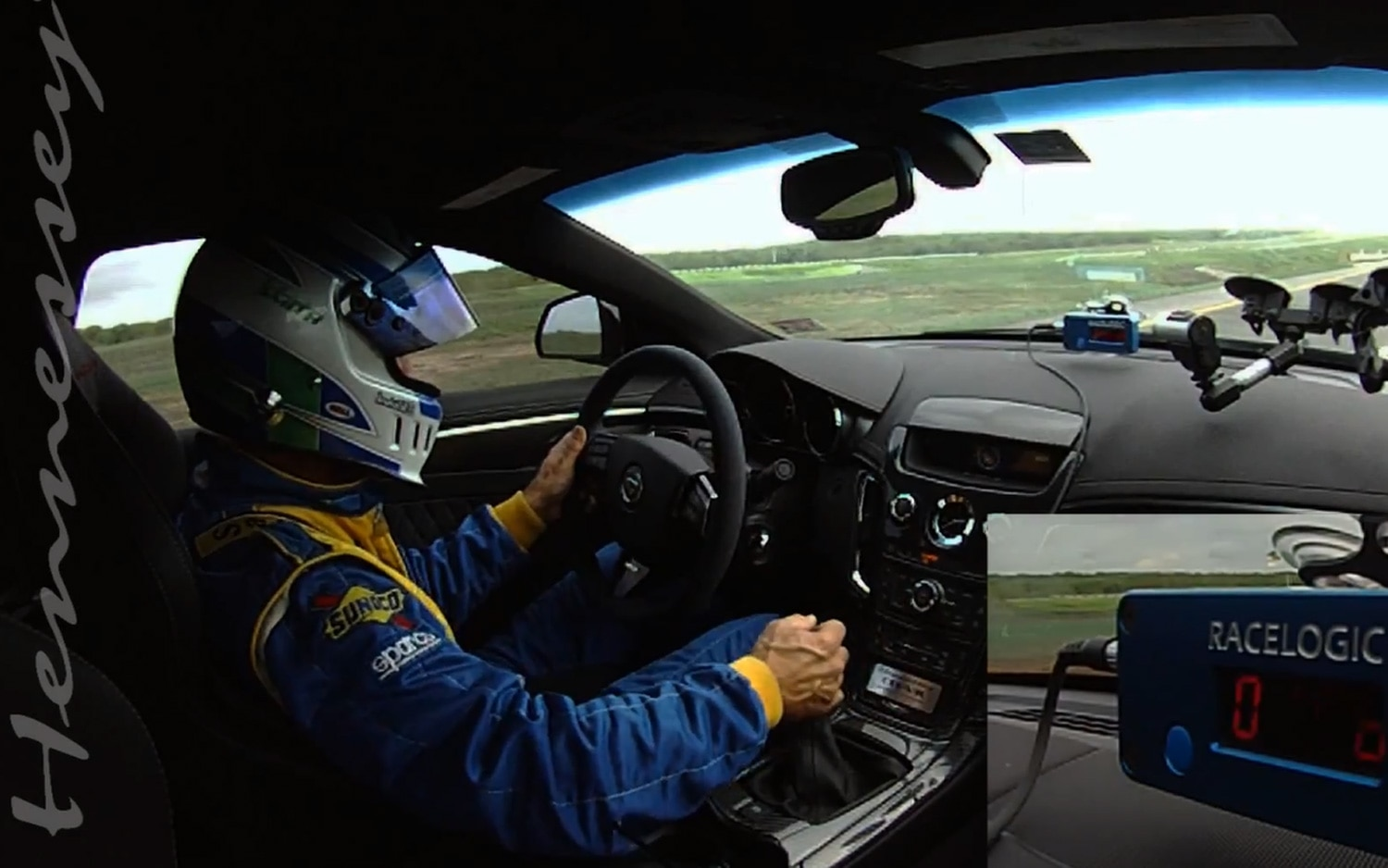 Hennessey Cadillac CTS V Acceleration1