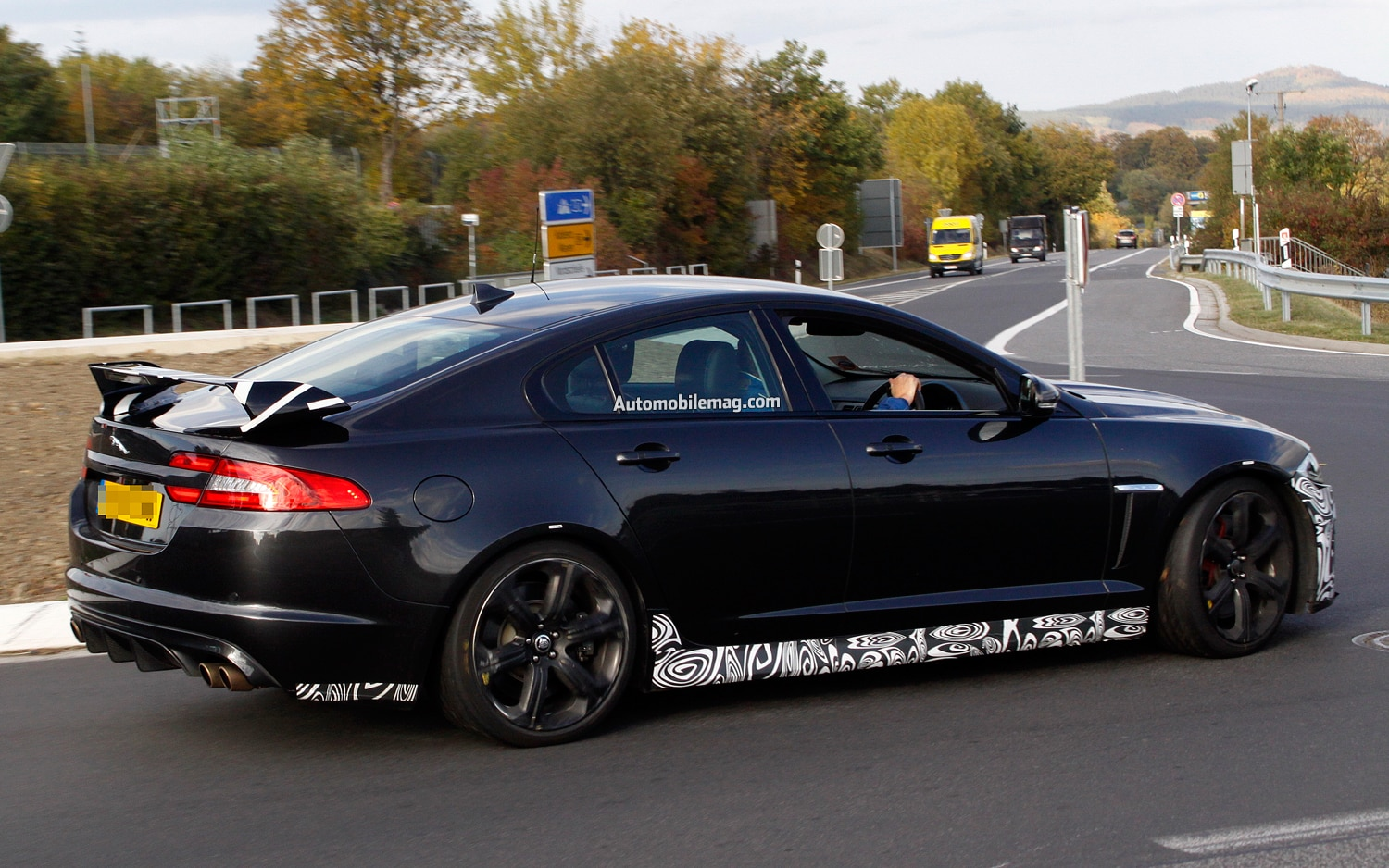 Jaguar XFR S Side Rear Amag1