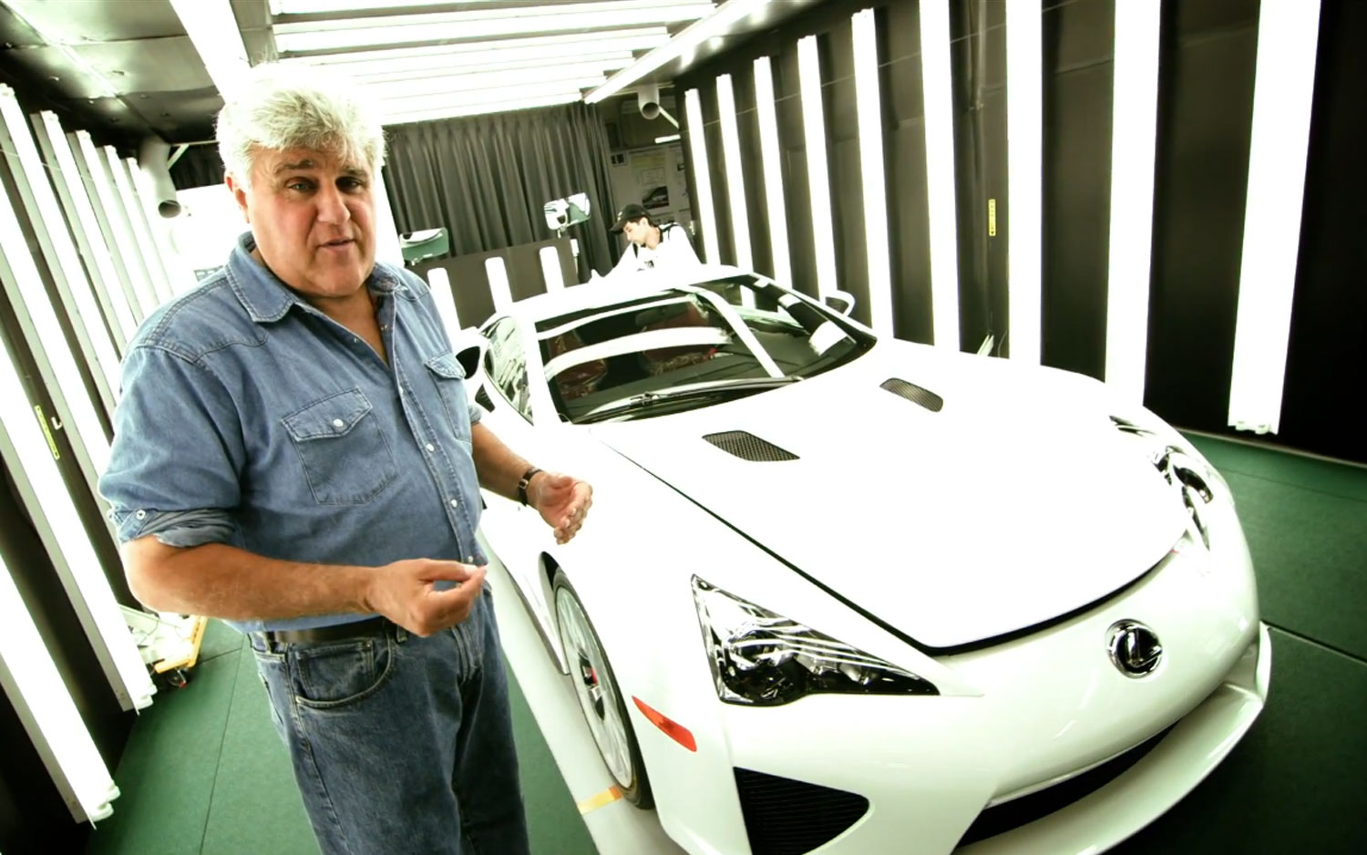 Jay Leno With Lexus LFA1