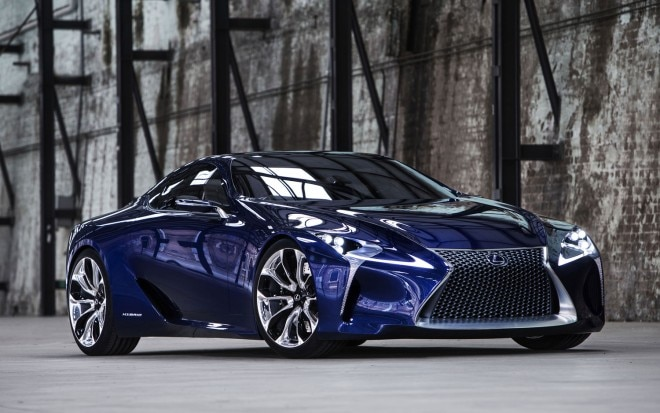 Lexus LF LC Blue Concept Front Three Quarter View1 660x413