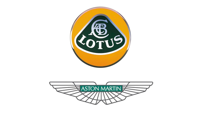 Lotus And Aston Martin