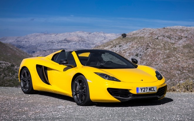 McLaren MP4 12C Spider Front Right View1 660x413
