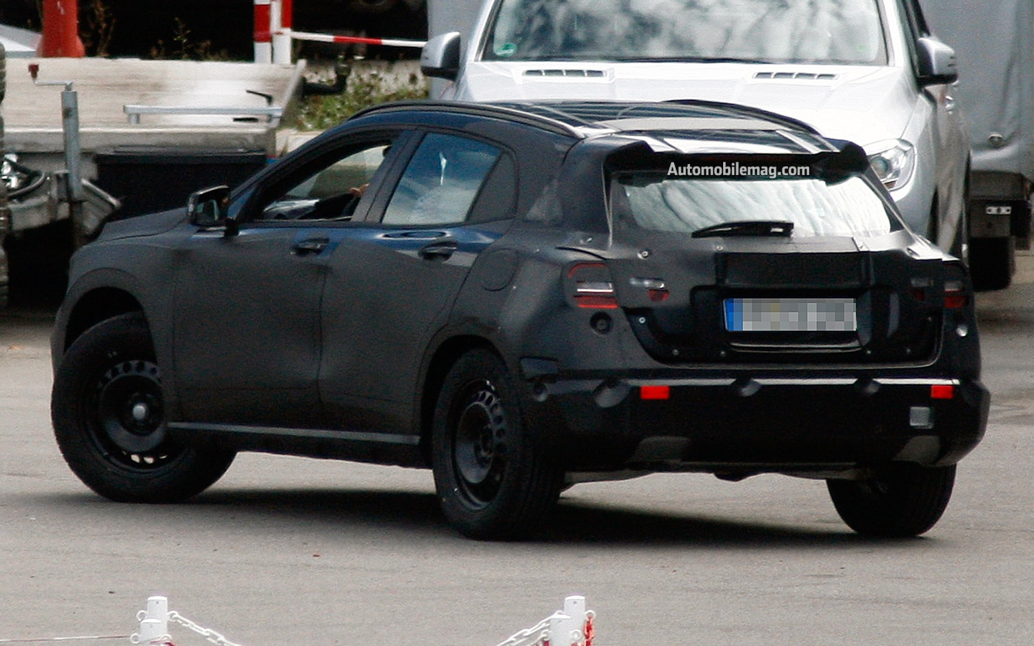 Mercedes Benz Gla Compact Suv Caught Testing