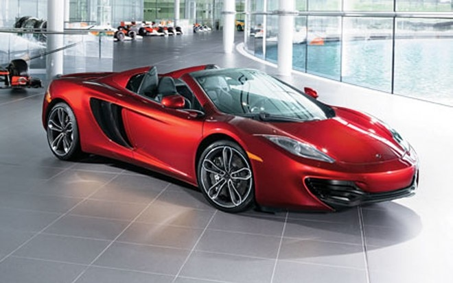 Neiman Marcus Edition 2013 McLaren MP4 12C Spider Front Three Quarter1 660x413