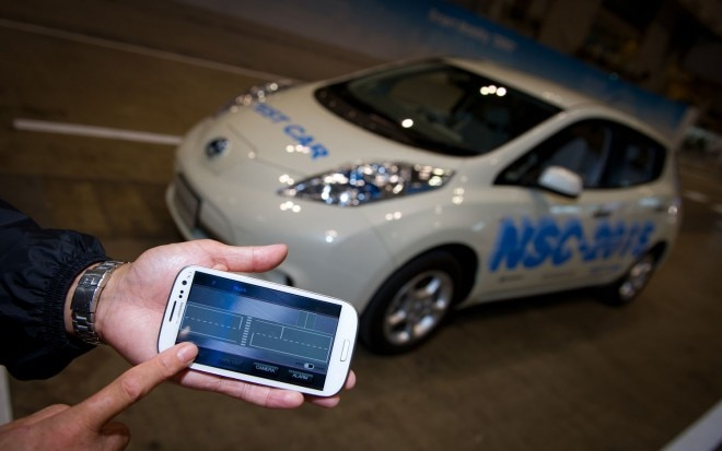 Nissan Leaf NSC 2015 Automated Vehicle1 660x413