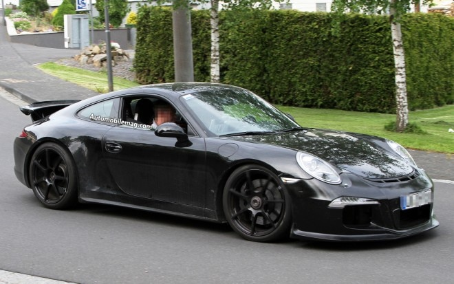 Porsche 911 GT3 Test Mule Front Three Quarter Motion1 660x413