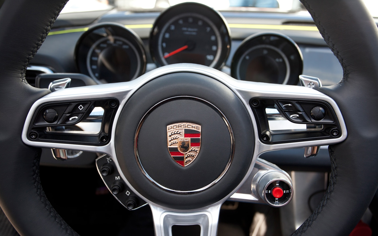 First Ride Porsche 918 Spyder Automobile Magazine