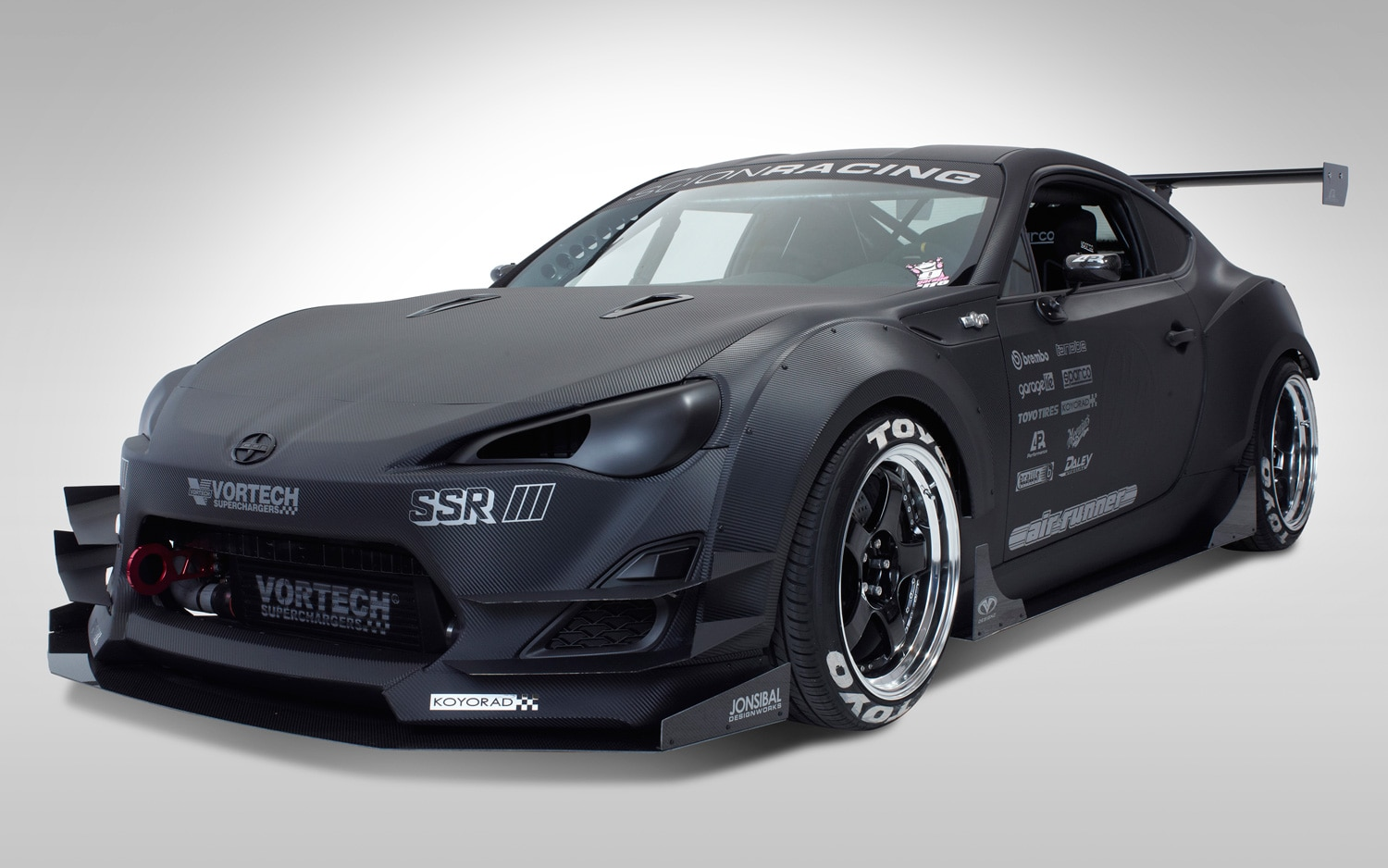 Scion FR S SEMA FR S GT Front View11