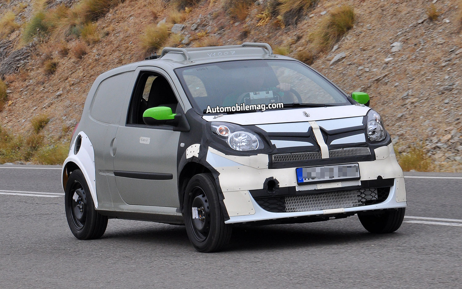 Caught Smart Forfour Prototype Shows Off Extra Set Of Doors