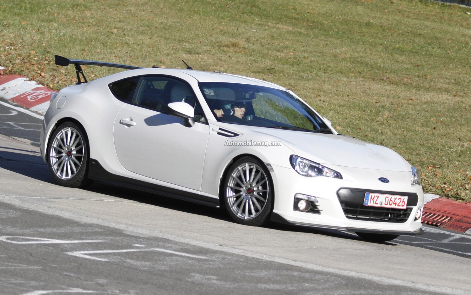 Subaru BRZ STI Spied Front Three Quarter 21