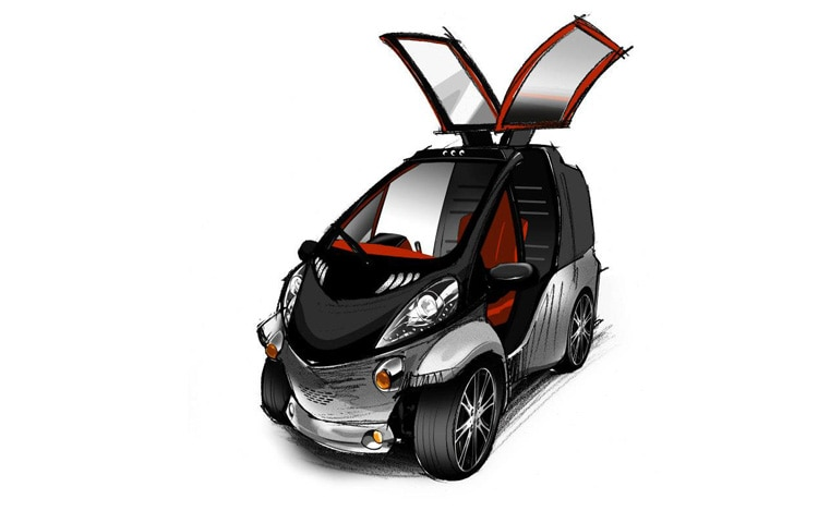 Toyota Smart Insect Concept Front Three Quarter 21