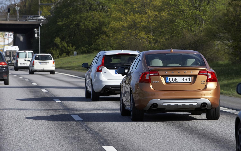 Volvo Traffic Jam Assistance Demo Rear 11
