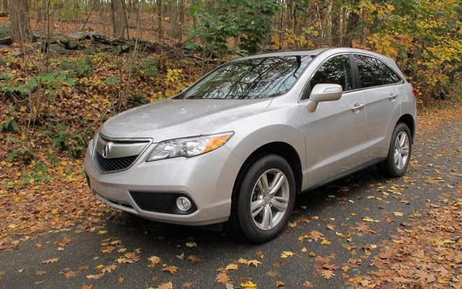 2012 Acura RDX Front Left View1 660x413