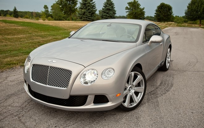 2012 Bentley Continental GT Front Three Quarter1 660x413