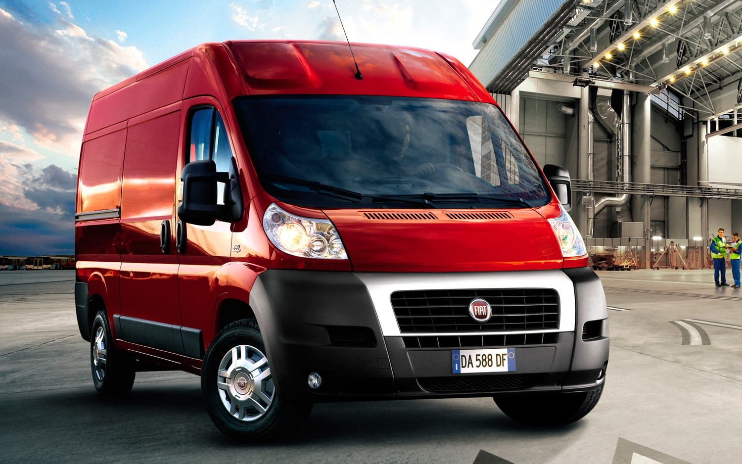 2012 Fiat Ducato Front View1