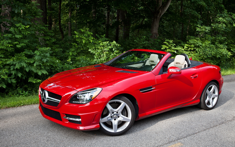 October 2012 auto sales automobile magazine for Mercedes benz slk models