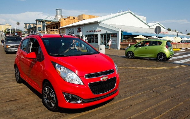 2013 Chevrolet Spark Front Three Quarter1 660x413