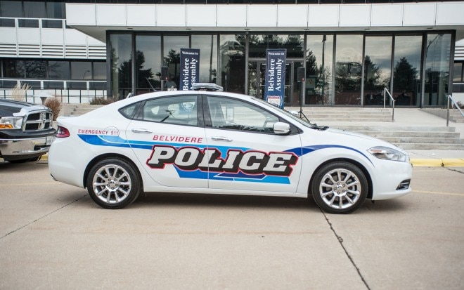 2013 Dodge Dart Police Car Side1 660x413