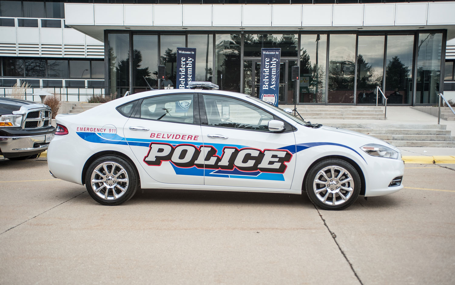 2013 Dodge Dart Police Car Side1