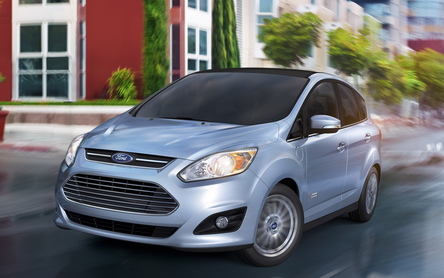 2013 Ford C Max Energi Front Left View1