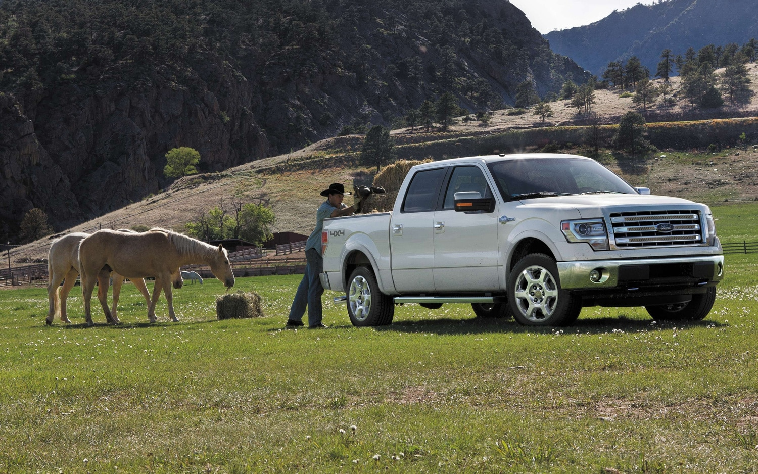 2013 Ford F 150 King Ranch Front Three Quarter1