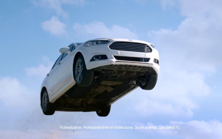 2013 Ford Fusion Front View From Below41