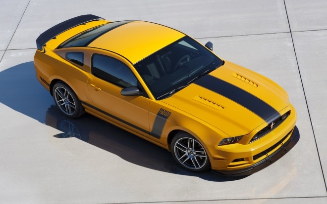 2013 Ford Mustang Boss 302 Front Three Quarter Static1 660x413