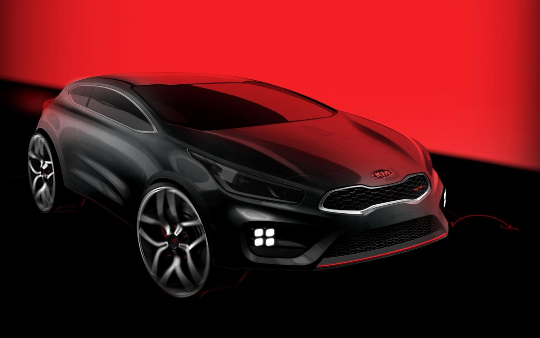 2013 Kia Pro Ceed GT Teaser