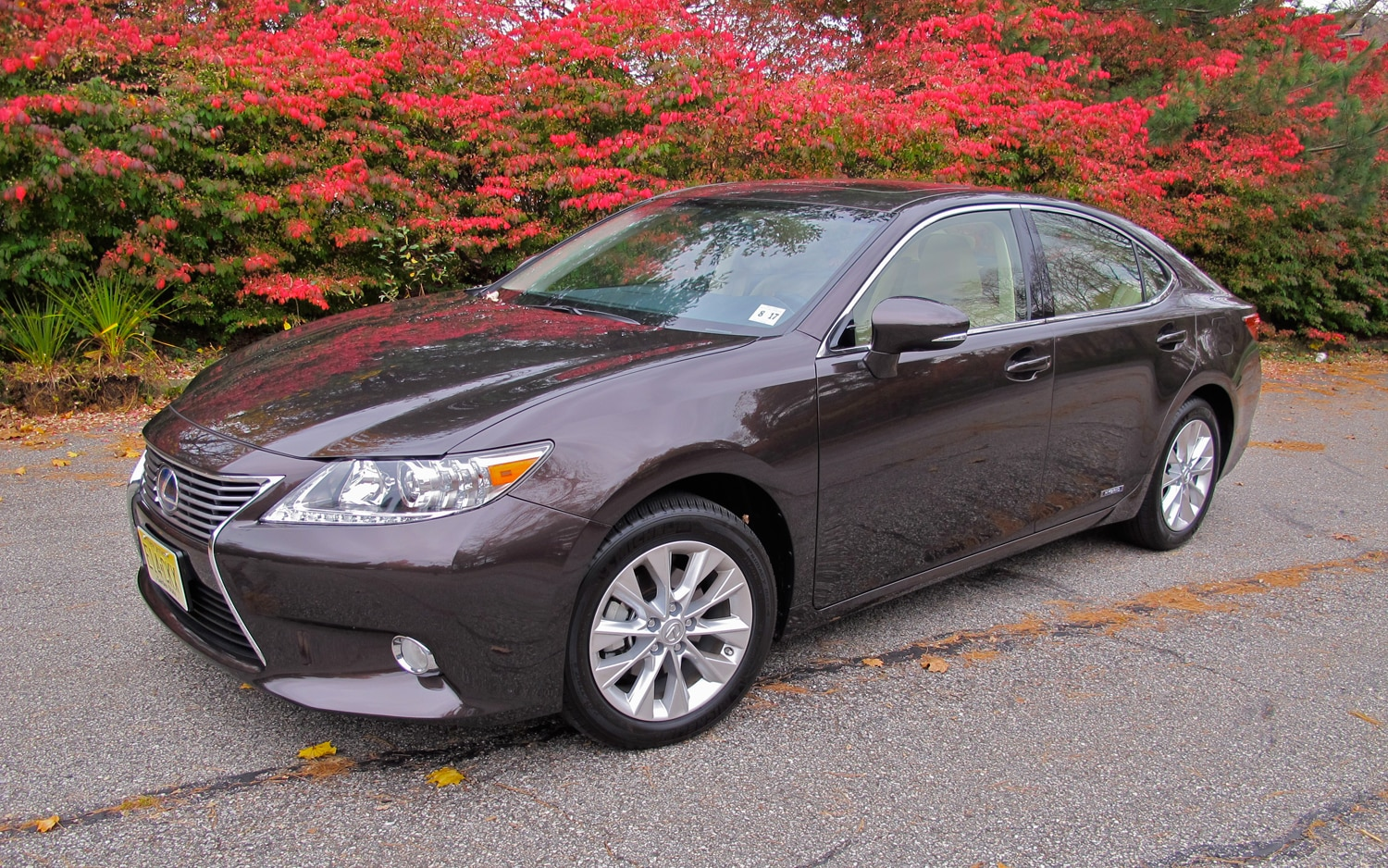 2013 Lexus ES300h Front Left Side View1