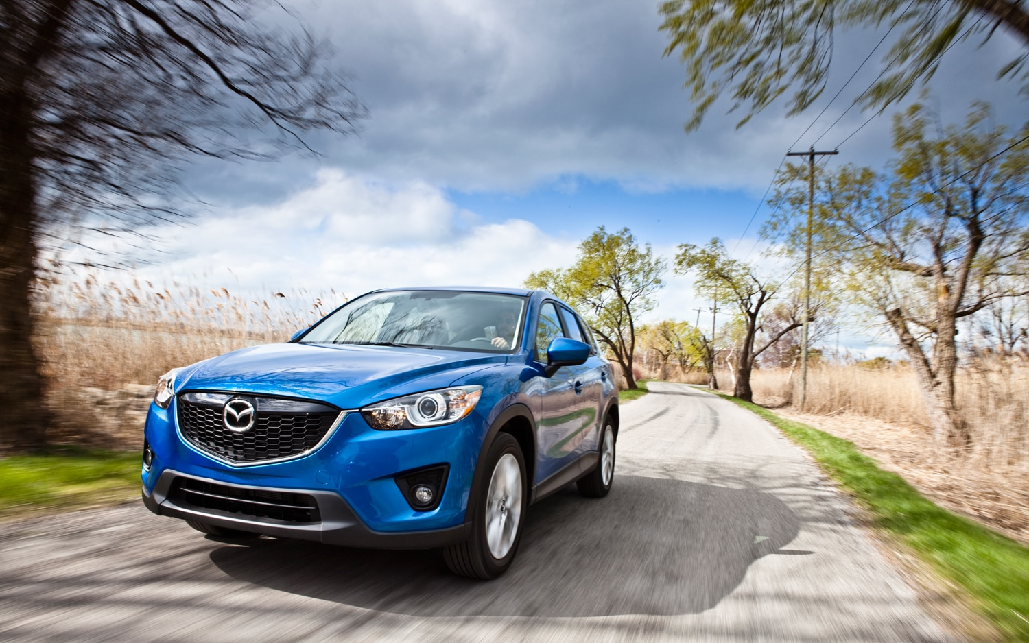 2013 Mazda CX 5 Grand Touring Front Left View 21