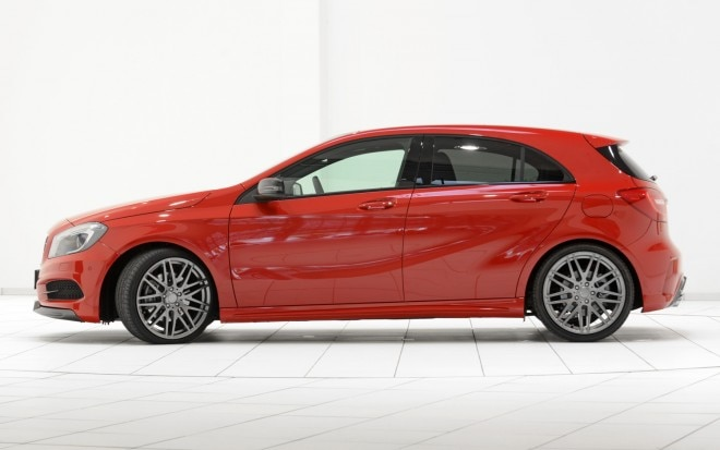 2013 Mercedes Benz A250 Sport With Brabus Parts Profile1 660x413