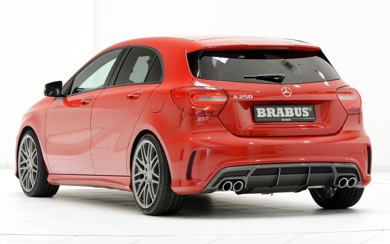 brabus reveals styling parts new exhaust for mercedes. Black Bedroom Furniture Sets. Home Design Ideas