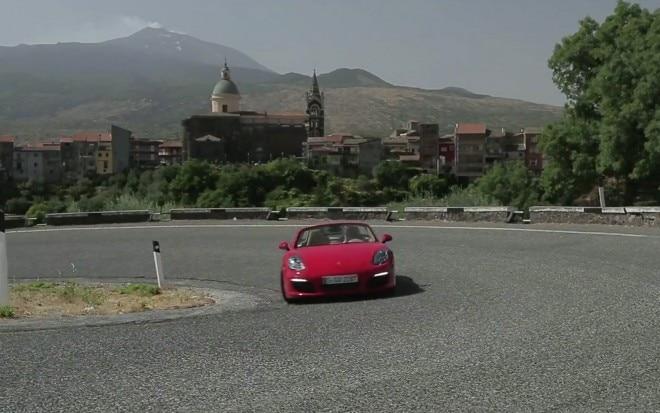 2013 Porsche Boxster S Cornering1 660x413