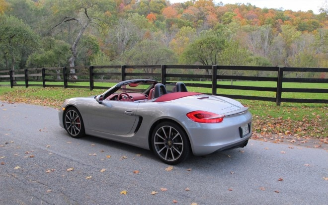 2013 Porsche Boxster S Rear Left Side View1 660x413
