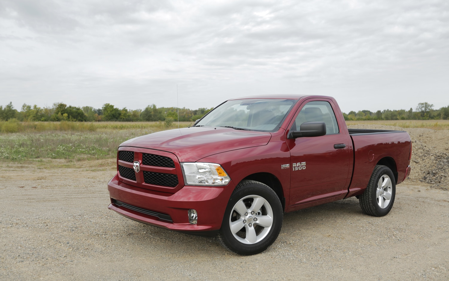 2013 Ram Express Front Left Side View1