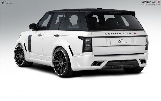 2013 Range Rover Lumma Design Rear1 660x413