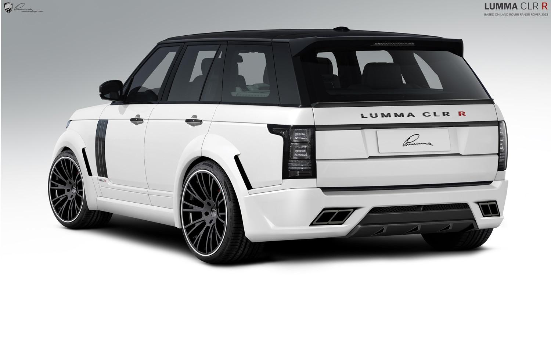 2013 Range Rover Lumma Design Rear1