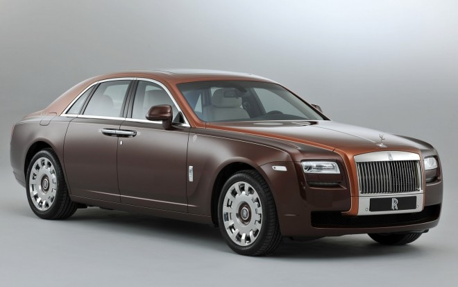 2013 Rolls Royce Ghost 1001 Nights Front Three Quarter1 660x413