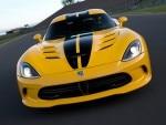 2013 SRT Viper SRT Yellow Black Front