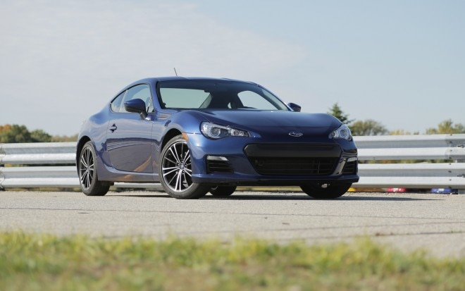 2013 Subaru BRZ Front Right View 21 660x413
