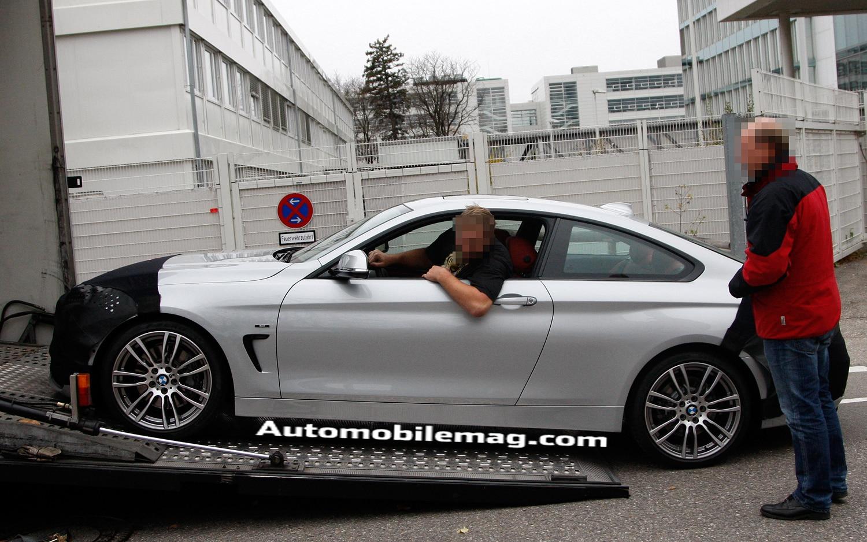 2014 BMW 440i Profile Spy1