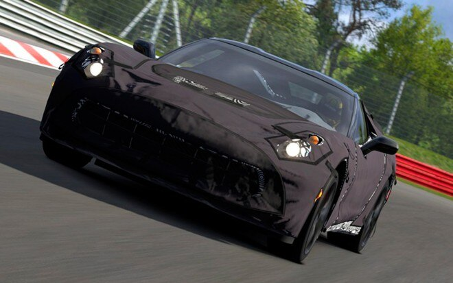 2014 Chevrolet Corvette C7 Prototype Gran Turismo 5 Front View1 660x413