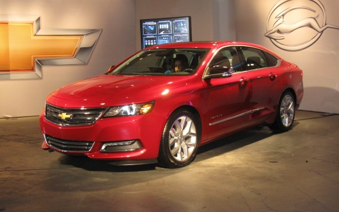2014 Chevrolet Impala Next Generation MyLink Left Front 11 660x413