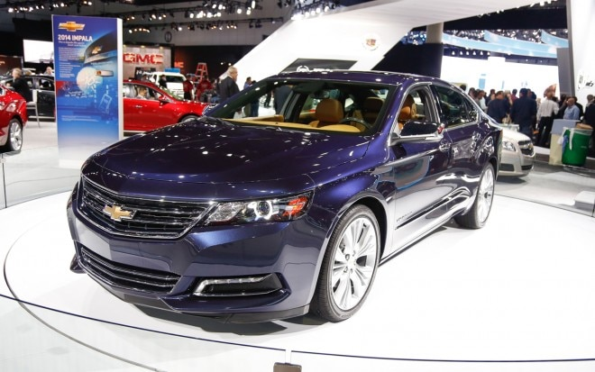 2014 Chevrolet Impala Front Left View11 660x413