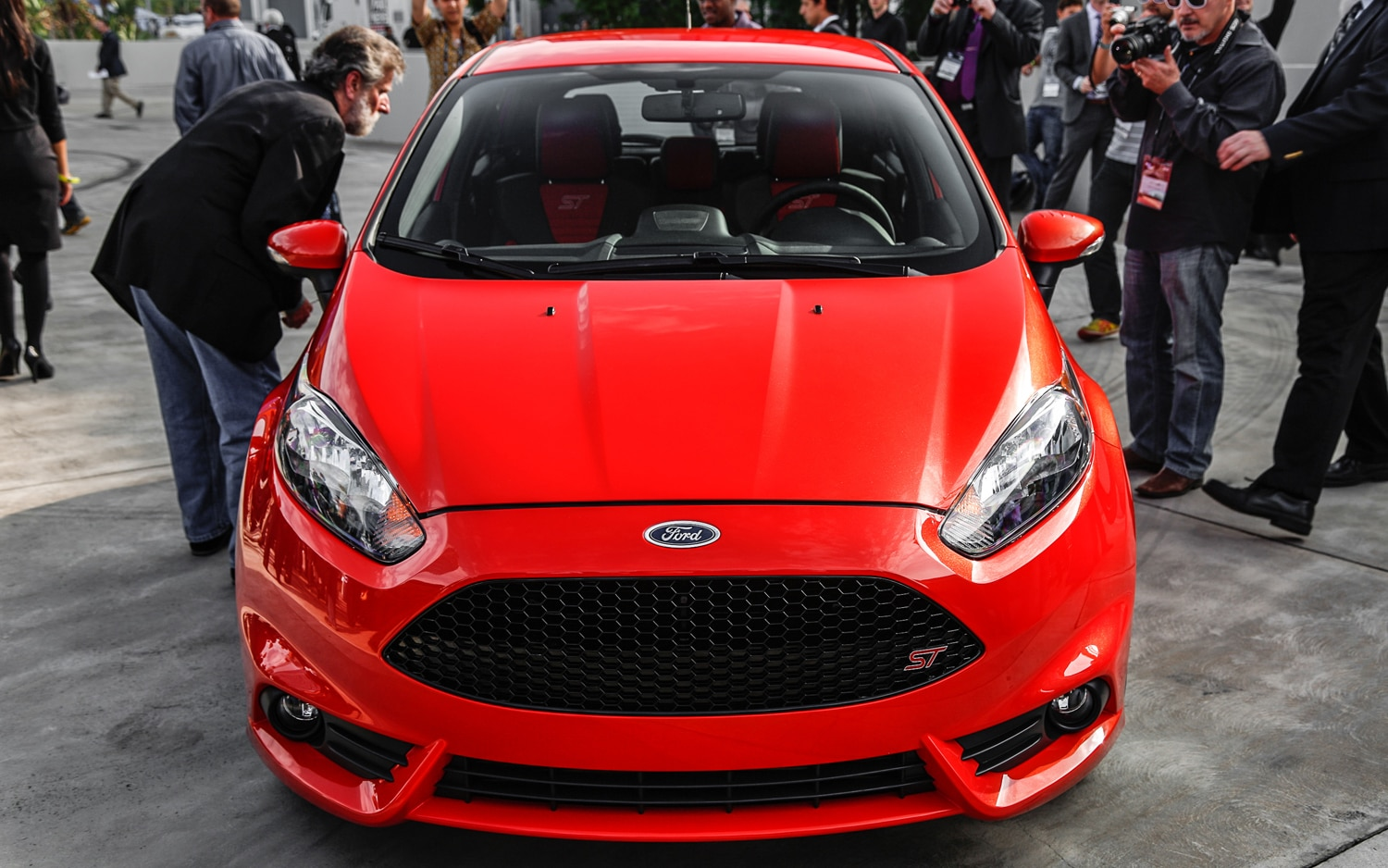 2014 Ford Fiesta ST Front End1