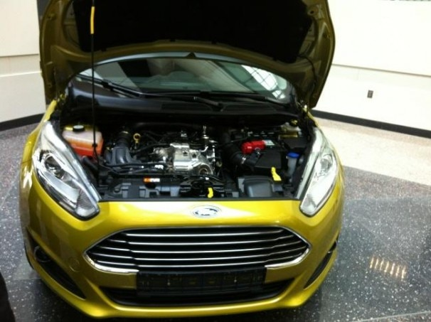 2014 Ford Fiesta With EcoBoost1 606x453