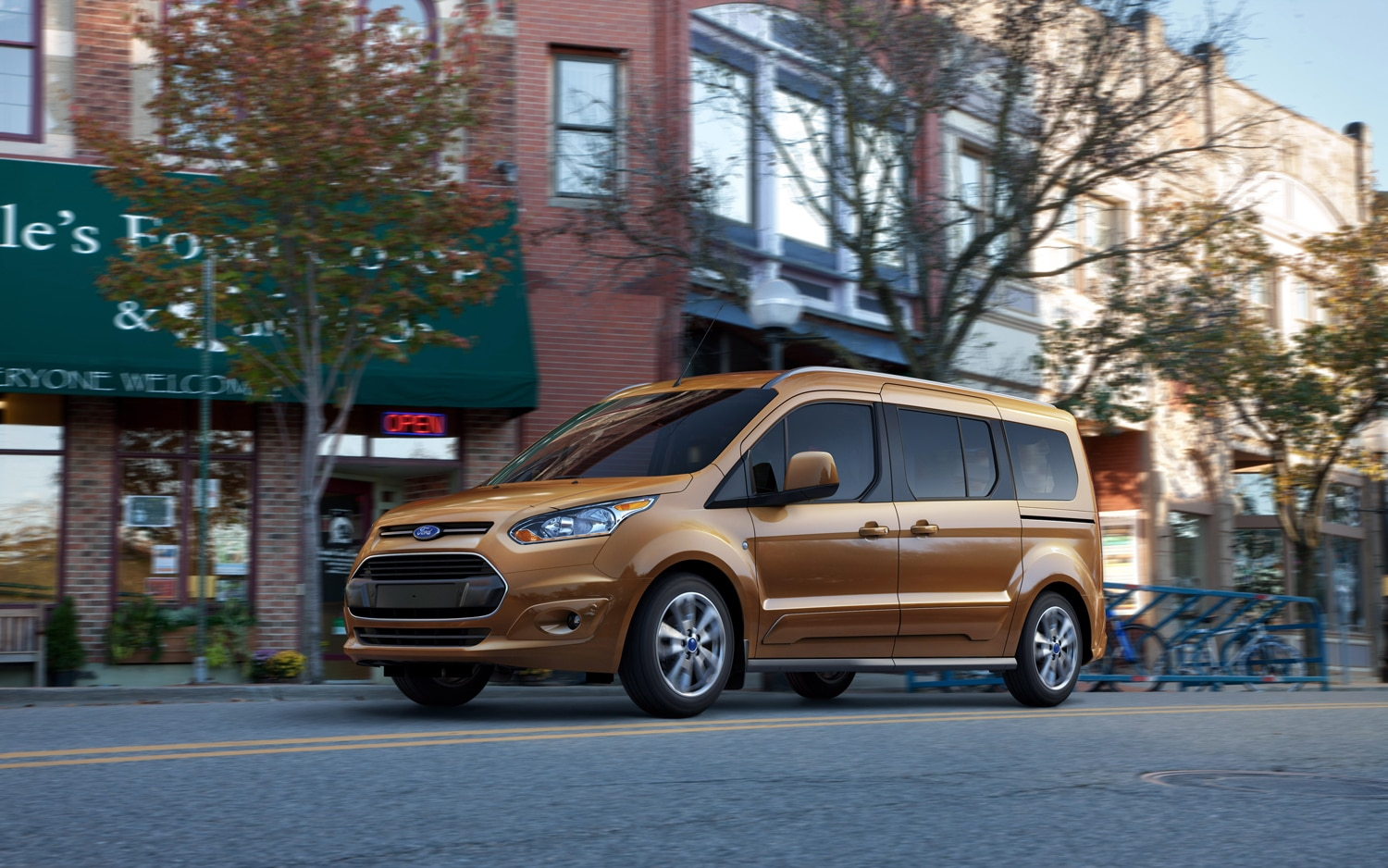 2014 Ford Transit Connect Wagon Front Left Side View1