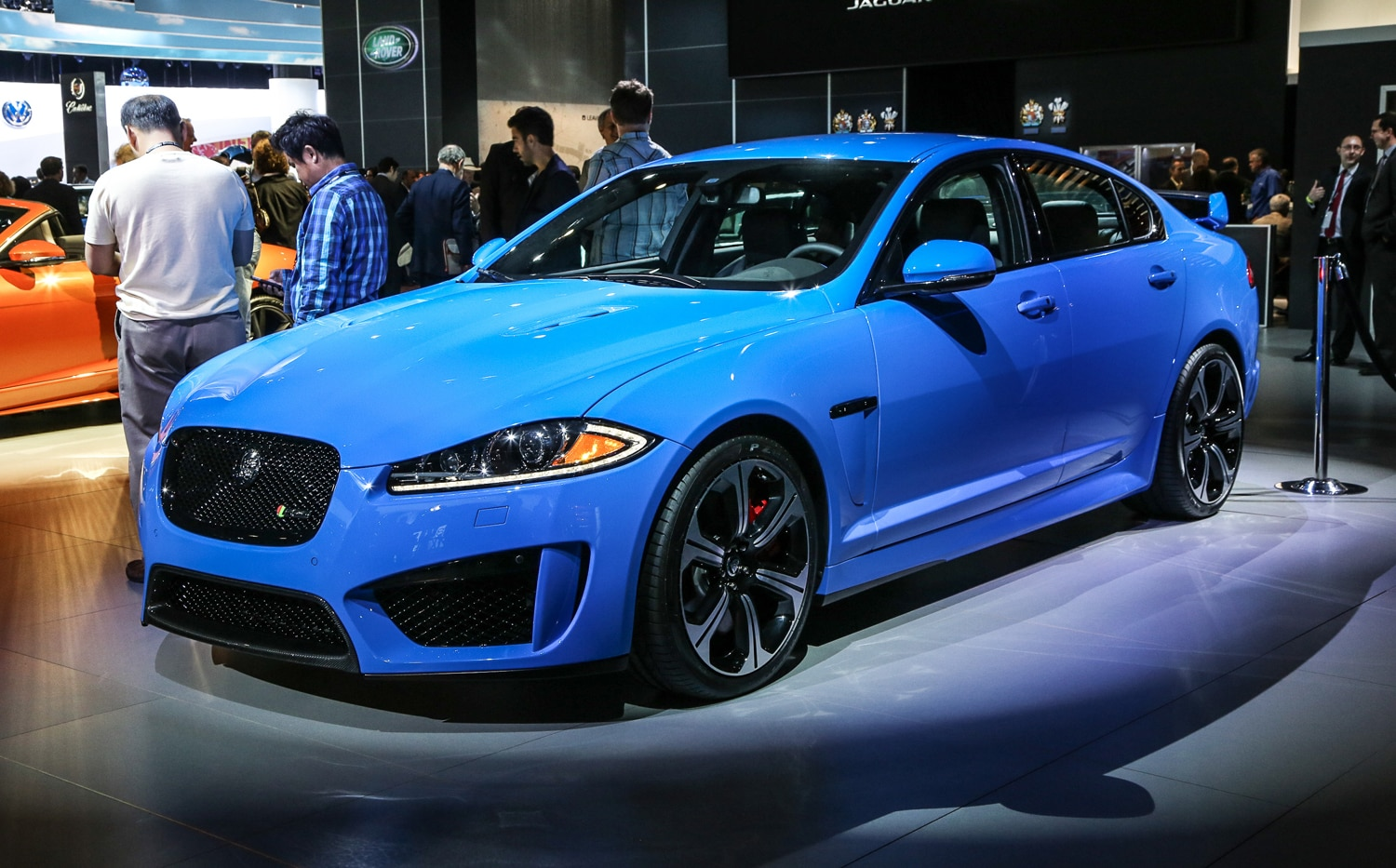 2014 Jaguar XFR S Front Three Quarter1
