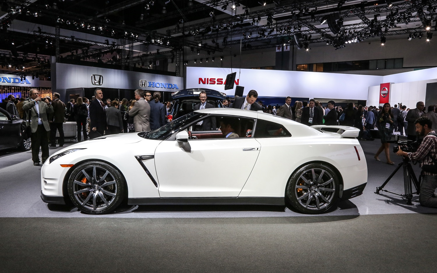 First Look: 2014 Nissan GT-R - Automobile Magazine